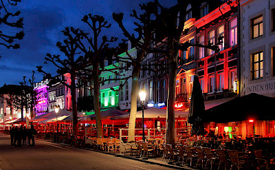 All aglow in Maastricht, Limburg, the Netherlands. Photo via Flickr:Jorge Franganillo