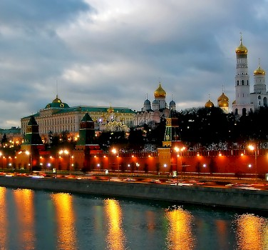 Kremlin in Moscow. Photo via Flickr:acuvin