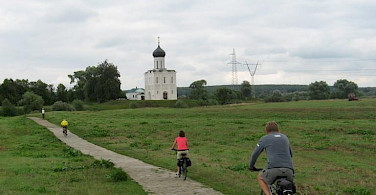 Cycling in Russia, off the beaten path.