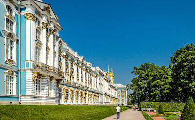 Hugely impressive Catherine's Place in St. Petersburg, Russia. Flickr:Florstein