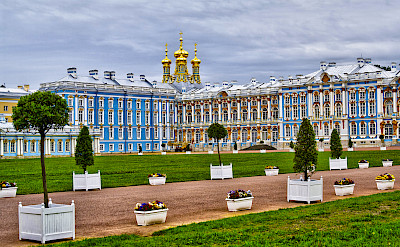Catherine's Palace in St. Petersburg, Russia. Flickr:Andrey Korchagin