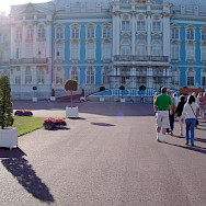 Catherine's Palace in St. Petersburg, Russia. Flickr:Jim G