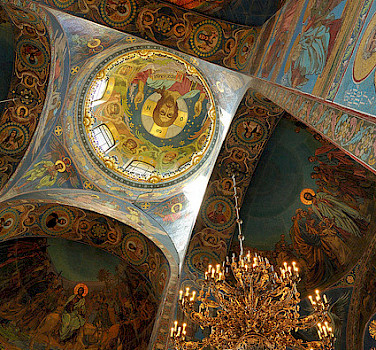 Church of Savior on Spilled Blood, St. Petersburg. Photo via Flickr:nagillum