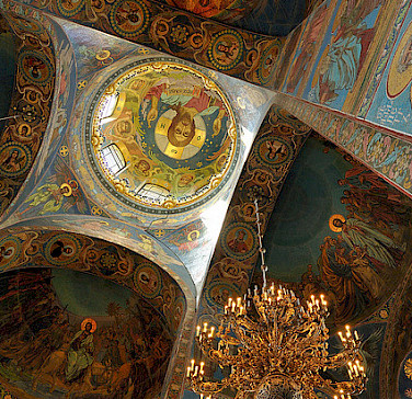 Church of Savior on Spilled Blood, St. Petersburg, Russia. Photo via Flickr:nagillum