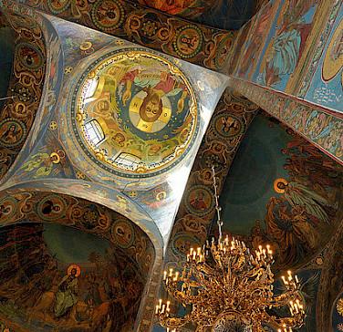 Church of Savior on Spilled Blood, St. Petersburg, Russia. Photo via Flickr:nagillum
