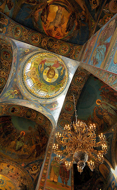 Church of Savior on Spilled Blood, St. Petersburg, Russia. Flickr:nagillum