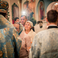 Orthodox Christianity is widely practiced in Russia. Flickr:Saint Petersburg Theological Academy