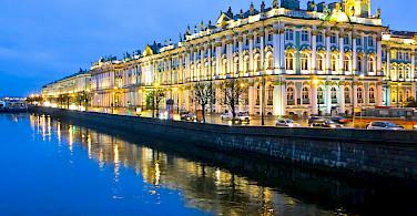 Saint Petersburg on the Neva River, Russia. Photo via Flickr:Ninara