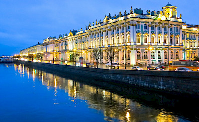 Saint Petersburg on the Neva River, Russia. Flickr:Ninara