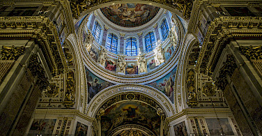 Saint Isaac's Cathedral in Saint Petersburg, Russia. Photo via Flickr:Ninara