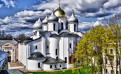 Saint Sophia Cathedral in Novgorod, Russia. Flickr:Andrey Korchagin