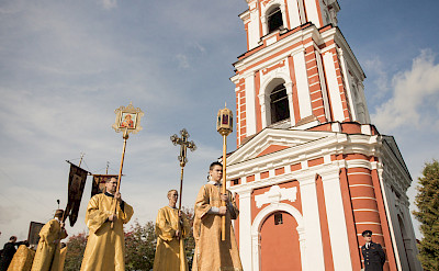 Religious ceremony in Staraya Russa, Russia. Flickr:Saint Petersburg Theological Academy