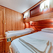 Twin Cabin - Osman Kurt | Bike & Boat Tours