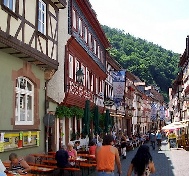 Shopping in Miltenberg. Photo via Flickr:teutonic nights