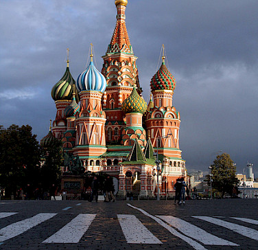 St. Basil's Cathedral, Red Square. Photo via Flickr:Ana Paula Hirama