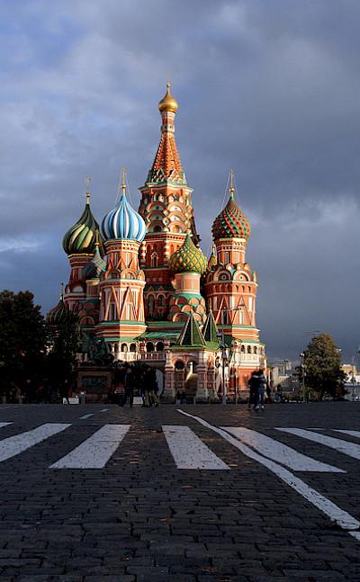 St. Basil's Cathedral, Red Square. Photo via Flickr:Ana Paula Hirama