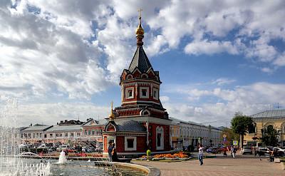 Chapel of Alexander Nevsky, Yaroslavl. Photo via Flickr:Alexxx1979