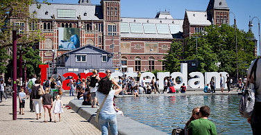 Amsterdam and its many musueums! Photo via Flickr:dchris