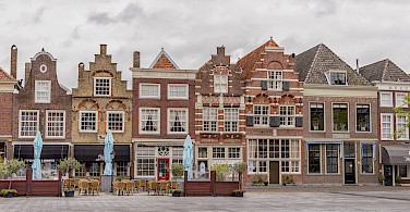 Statenplein in Dordrecht, South Holland, the Netherlands. Photo via Flickr:Paul van de Velde