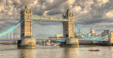 Tower Bridge in London, England. Photo via Flickr:Martin Bauer