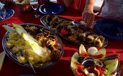 Dining - Odisej   Bike & Boat Tours