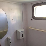 Cabin Bathroom - Odisej | Bike & Boat Tours