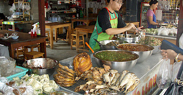 Food Market in Chiang Mai. Photo via Flickr:colmsurf