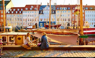 The beautiful Nyhavn in Copenhagen, Denmark. Flickr:Moyan Brenn