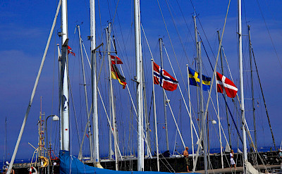 Masts in Hornbaek, Sjælland, Denmark. Flickr:Guillaume Baviere