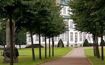 Fredensborg Castle lies on Lake Esrum in Fredensborg, Denmark. Flickr:Guillaume Baviere