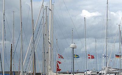 Boats in Hornbaek, Sjælland, Denmark. Flickr:Guillaume Baviere