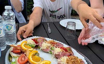 Lunch in Hørsholm, Denmark. Flickr:Ray-Swi-hymn