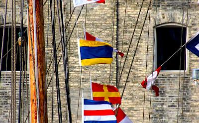 Flags in Copenhagen, Denmark. Flickr:Guillaume Baviere