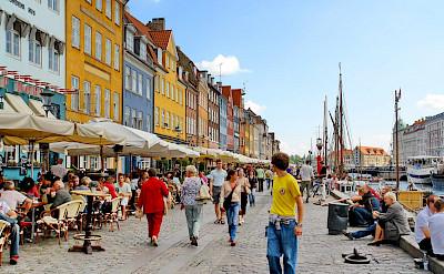 Sightseeing the historic Nyhavn region in Copenhagen, Denmark. Flickr:Dimitris Karagiorgos