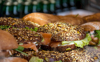 Salmon sandwiches in Denmark, of course! Flickr:Susanne Nilsson