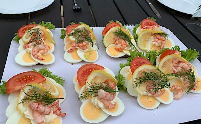 Shrimp sandwiches in Hørsholm, Denmark. Flickr:Ray-Swi-hymn