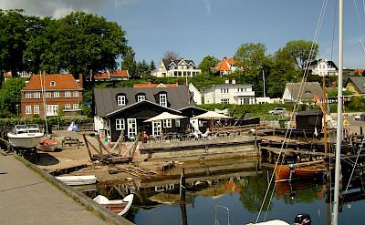 Harbor cafe in Snekkersten, Denmark. Flickr:Casper Moller
