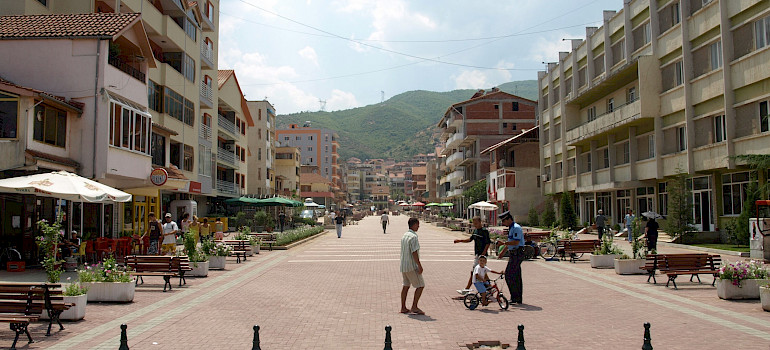 Pogradec, Albania. Photo via Flickr:Julijan Nyca