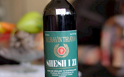 Old Albanian wine. Flickr:Tobias Michaelsen