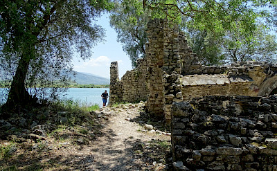 Cycling through Butrint National Park, Ksamil, Albania. Flickr:Adam Jones