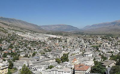 Overlooking Gjirokastër in Albania. CC:Krzysztof Dudzik