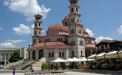 The Resurrection Cathedral in Korçë, Albania. Flickr:yolanda.white84
