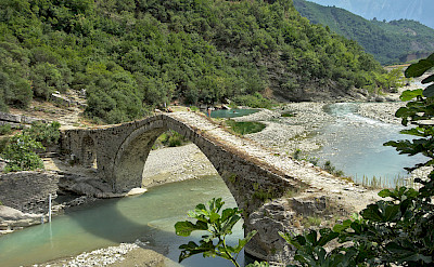 Lengarica Canyon, Katiu Ottoman Bridge & the Hotsprings of Benja, Permet, Albania. CC:malenki