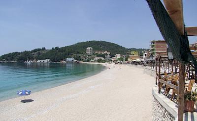 Riviera in Himara, Albania. CC:eigenesfoto
