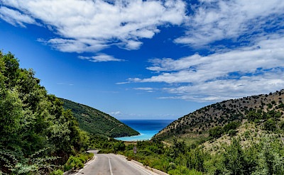 Biking to Saranda, Albania. Flickr:Steve Kellett