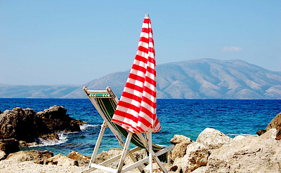 Bike to beach in Vlorë, Albania. Flickr:godo godaj