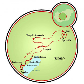 Hungarian Rhapsody Map