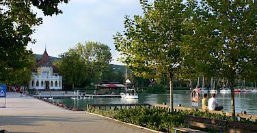 Summer activities on Lake Balaton, Hungary. Photo via Flickr:Heather Cowper