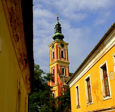 Serbian Orthodox Church in Szentendre, Hungary. Photo via Wikimedia Commons:Indafoto