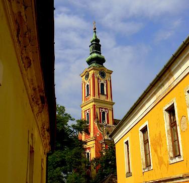 Serbian Orthodox Church in Szentendre, Hungary. Photo via Wikimedia Commons:Indafoto